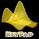 Yellow splendor Keypad Layout by Omega Themes