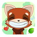 GO Keyboard Sticker Red Fox by Best Design Keyboard