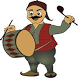 play the drums and flutes by eaglesoft