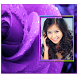 Purple Roses Photo Frames by SoftFree2015