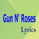 Guns N' Roses Top Lyrics by Isnea Singh