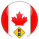 Road and traffic signs Canada by Vladislav Zhirnov