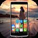 Transparent screen phone by Dash Studio