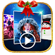 Christmas Photo Slideshow Video Maker With Music by Fashion Photo Montage
