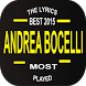 Andrea Bocelli Top Lyrics by Ltd gameid