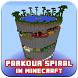 Spiral Parkour map for minecraft by SimpleDrawingStudio