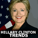 Hillary Clinton Trends by Chris McDonald