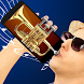 Plays the trumpet simulator by SchnAPPS