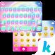 Rose Emoji Kika Keyboard Theme by Best Theme Design Apps