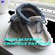 Men Slippers Crochet Pattern by newerica