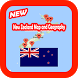 New Zealand Map and Geography by Kingdom App 1988
