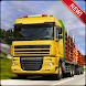 Jungle Wood Cargo Transporter: Big Truck Driver