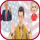 Trump Banana Jelly Hillary Button by Zoota