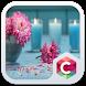 Pink Flower Theme C Launcher by Baj Launcher Team