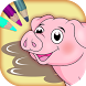 Farm animals coloring book by Onti Apps