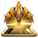 Dazzling Gold Space Craft Theme 2D