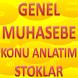 GENEL MUHASEBE STOKLAR by Kenan IŞIK