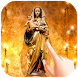 Jesus Mary Water Ripple Live Wallpaper