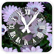 Flower Clock live wallpaper by Swidan Applications