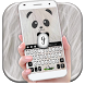 Cuteness Love Panda Keyboard