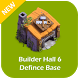 New COC Builder Hall 6 Defence Base by Debay Apps