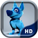 Funny Blue Dog Live Wallpaper by Quentin Country Design