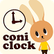 coni clock by ROBOT Communication inc