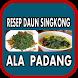 Aneka Resep Daun Singkong Ala Padang by Bazla_Apps Studio