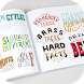 Hand Lettering Styles by Orexis