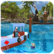 Island LifeGuard Rescue Boat by RedC Game Studio