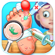 Little Foot Doctor- kids games by Big Cake Group Limited