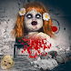 Haunted Doll Photo - Add scary doll and evil clown
