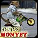 topeng monyet terlucu by elokstudio