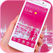 Pink wallpaper Bubble icons Theme by Marty Koester