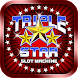 Triple Star Slot Machine by Wincrest Studios
