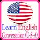 Learn English Conversation USA by Sachjean