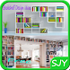 Bookshelf Design Ideas by sjytainment