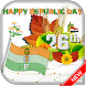 2018 Republic Day GIF : 26 January GIF Greetings by Photo Quick Apps