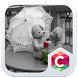 Black & White Bear Love Theme by Baj Launcher Team