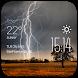 Lightning Clock weather widget by Widget Dev Team