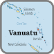 Vanuatu Map by map location for mobile