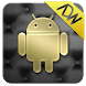 Gold and Leather ADW Theme by DroidIndustries