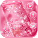 Pink Diamond Theme Wallpaper Glitter by Trusty Rabbit Studio