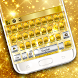 Gold Silver Keyboard Theme by Keyboard Dreamer
