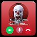 Fake Call Killer Clown Prank by prankpippo