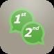 تشغيل رقمين واتس اب بهاتف واحد by sarahah app