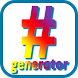 Hashtag generator by ESoftware