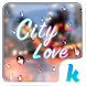City Love Emoji Keyboard Theme by Kika Theme Dev