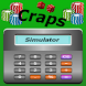 Craps Simulator - Statistics by wildebeastmedia