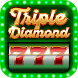 Triple Diamond 777 Slots by Wincrest Studios